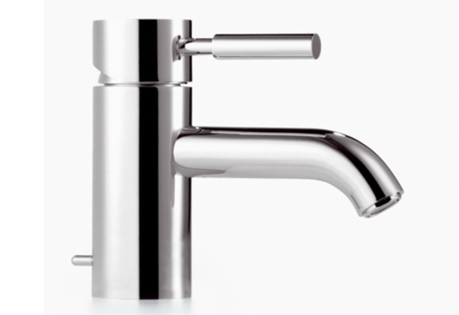 Meta.02 GRANDE single-lever basin mixer with pop-up waste