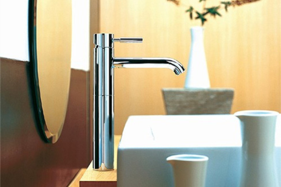 Meta.02 Single-lever basin mixer with/without pop-up waste M
