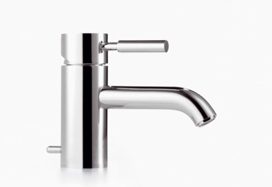 Meta.02 Single-lever basin mixer with/without pop-up waste