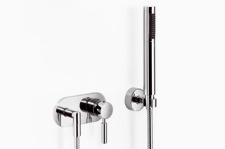 Meta.02 Single-lever shower mixer with shower set, two pieces  by  Dornbracht