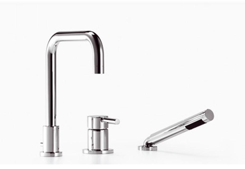Meta.02 Single-lever sink mixer with vegetable spray