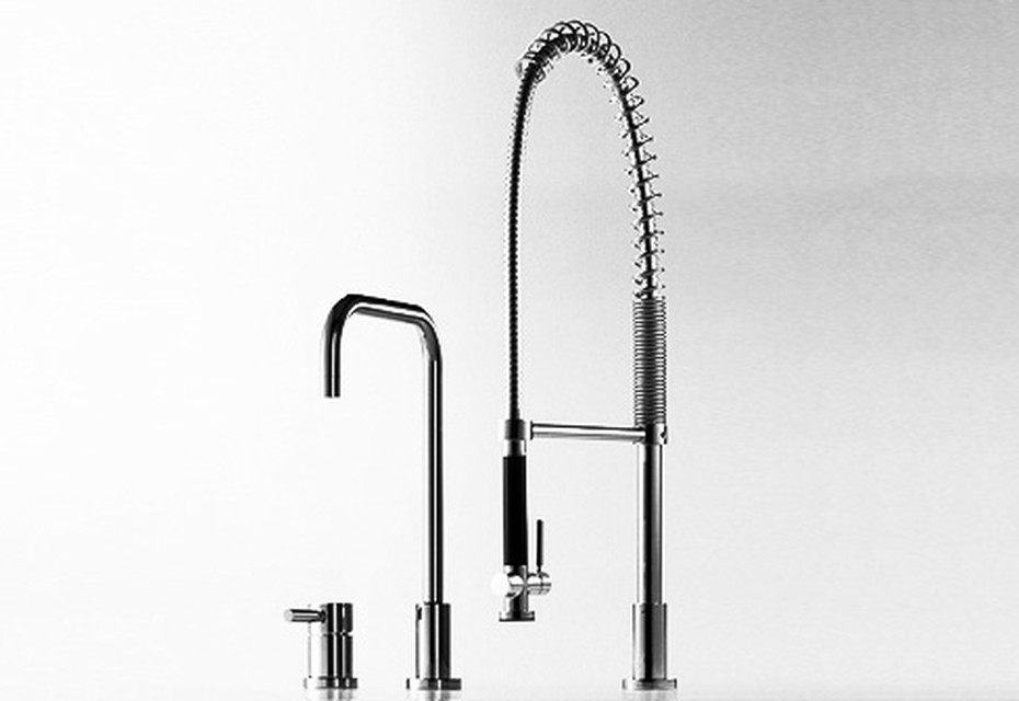 Meta.02 Single-lever sink mixer with vegetable spray