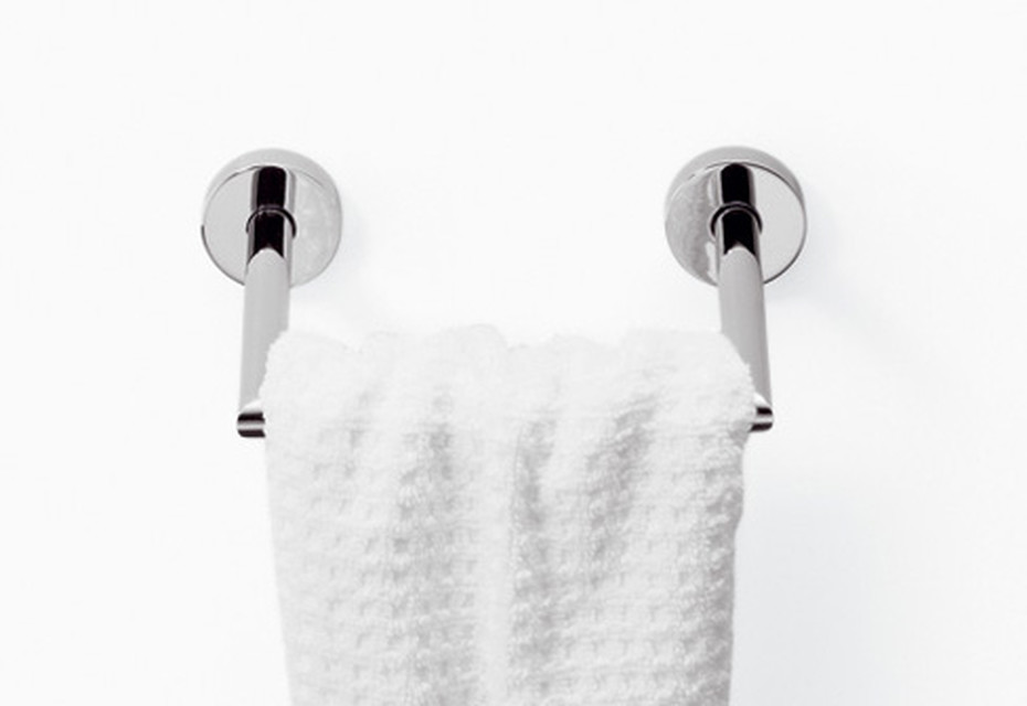 Meta.02 Towel ring, angular