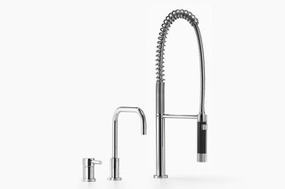 Meta.02 Two-hole mixer with profi spray set  by  Dornbracht