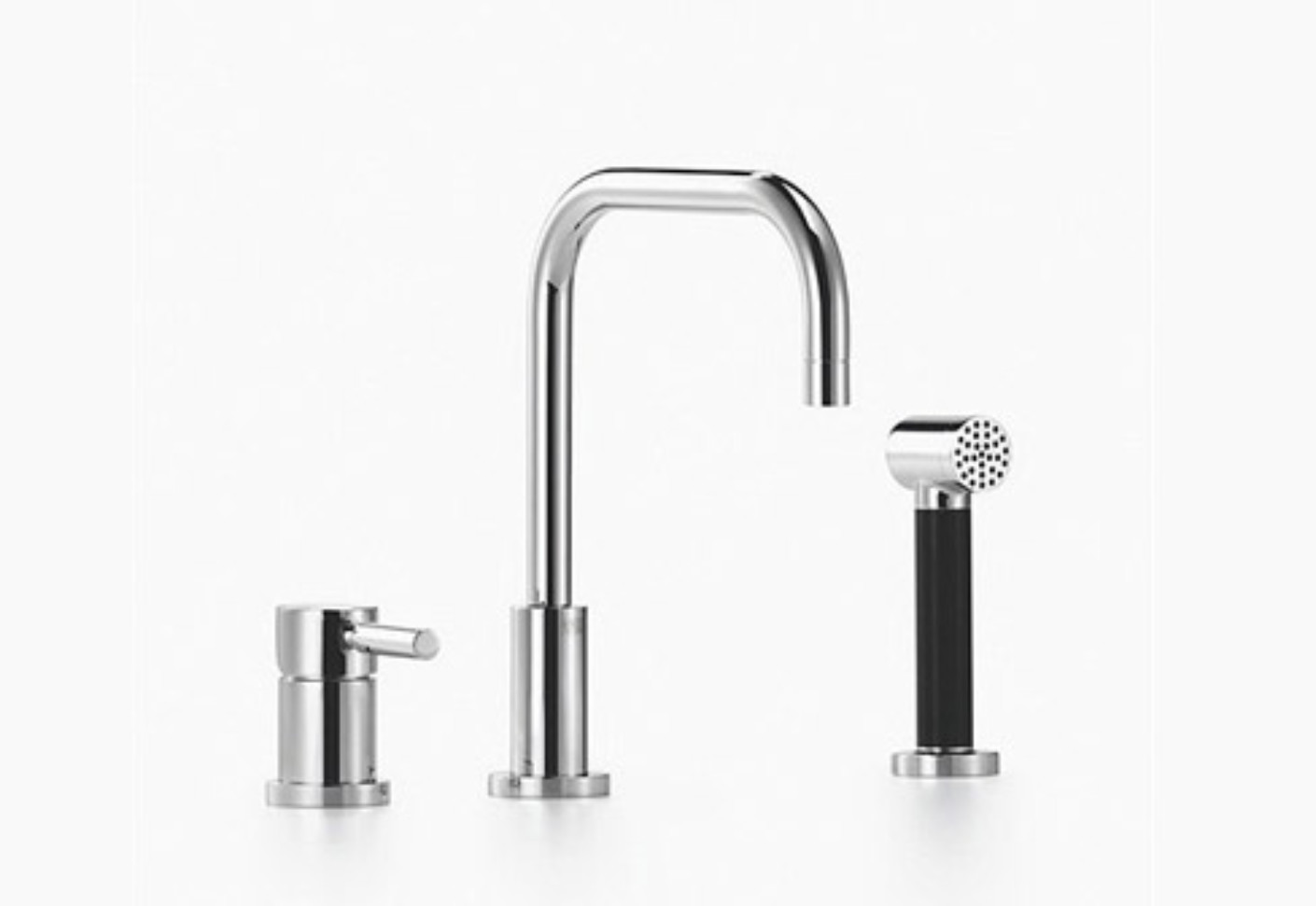 Meta 02 Two Hole Single Lever Sink Mixer With Shower