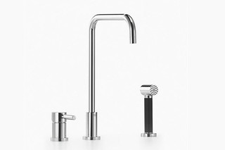 Meta.02 Two - hole single - lever sink mixer with Shower set  by  Dornbracht