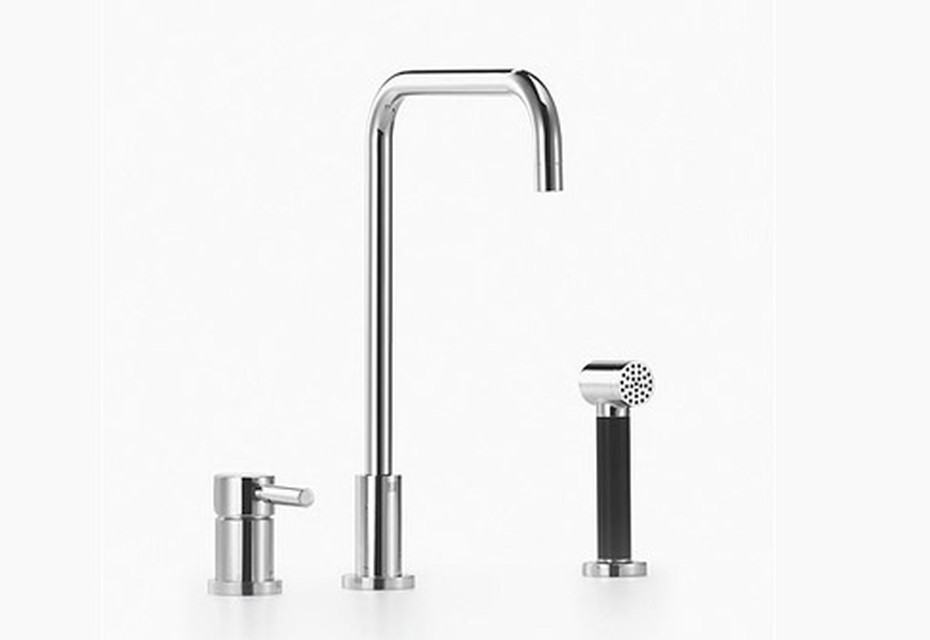Meta.02 Two - hole single - lever sink mixer with Shower set