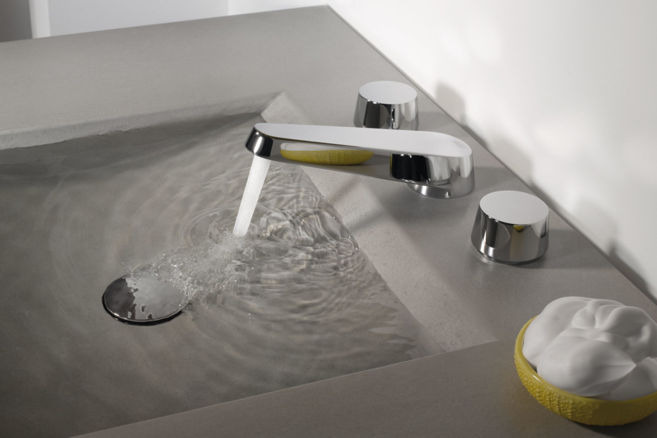 Selve Three-hole basin mixer