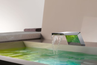 Supernova Cascade bath spout  by  Dornbracht