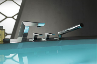 Supernova Deck-mounted bath shower set  by  Dornbracht