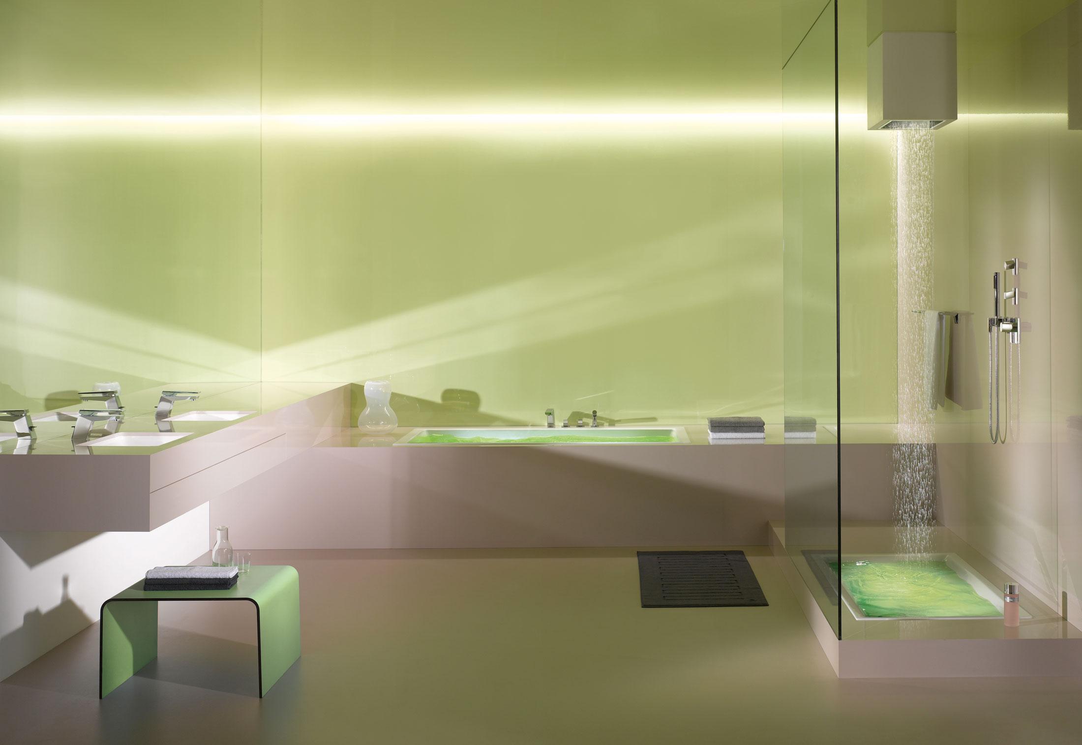 Supernova Deck-mounted bath shower set by Dornbracht | STYLEPARK