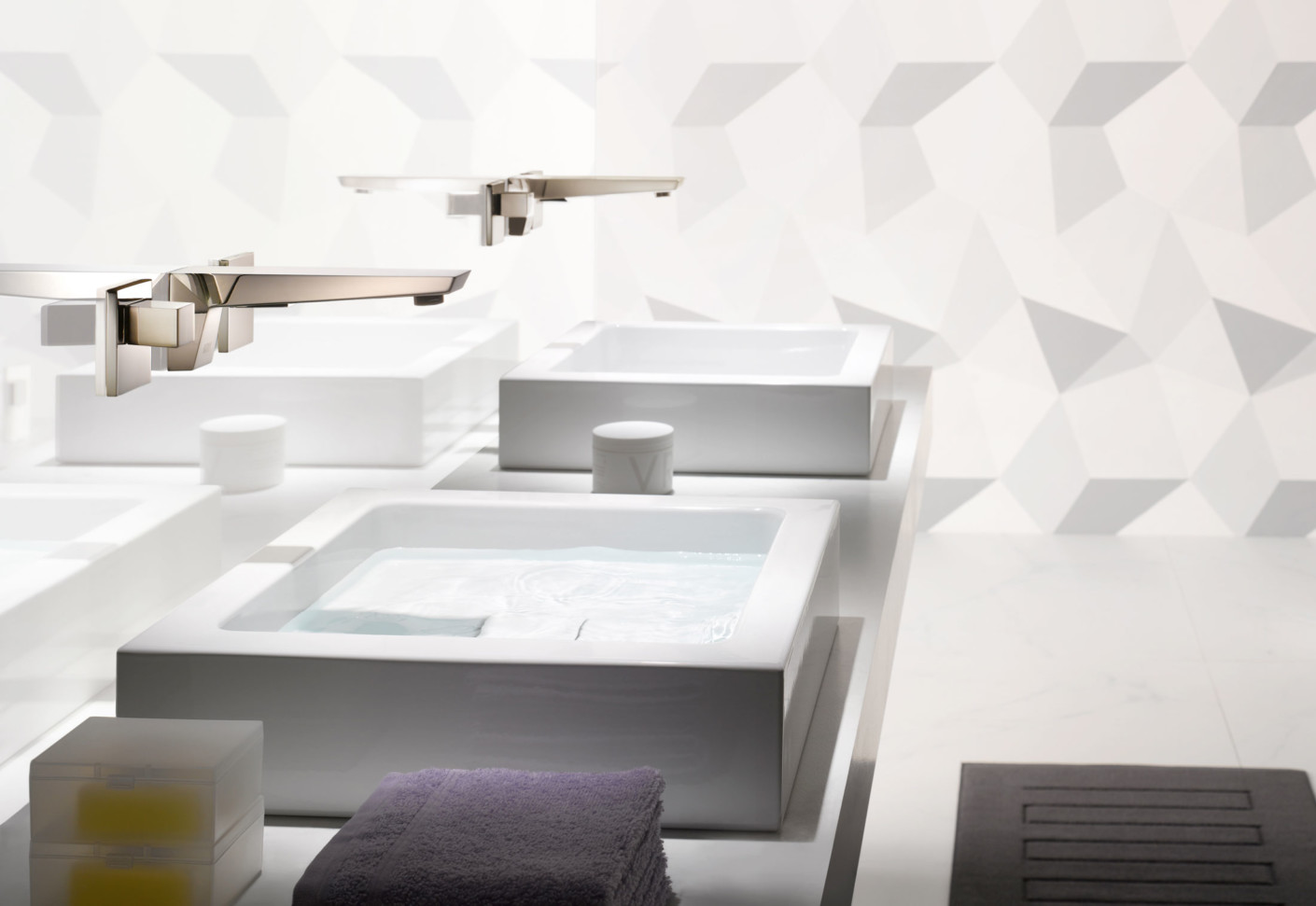 Supernova Wall Mounted Basin Mixer By Dornbracht Stylepark