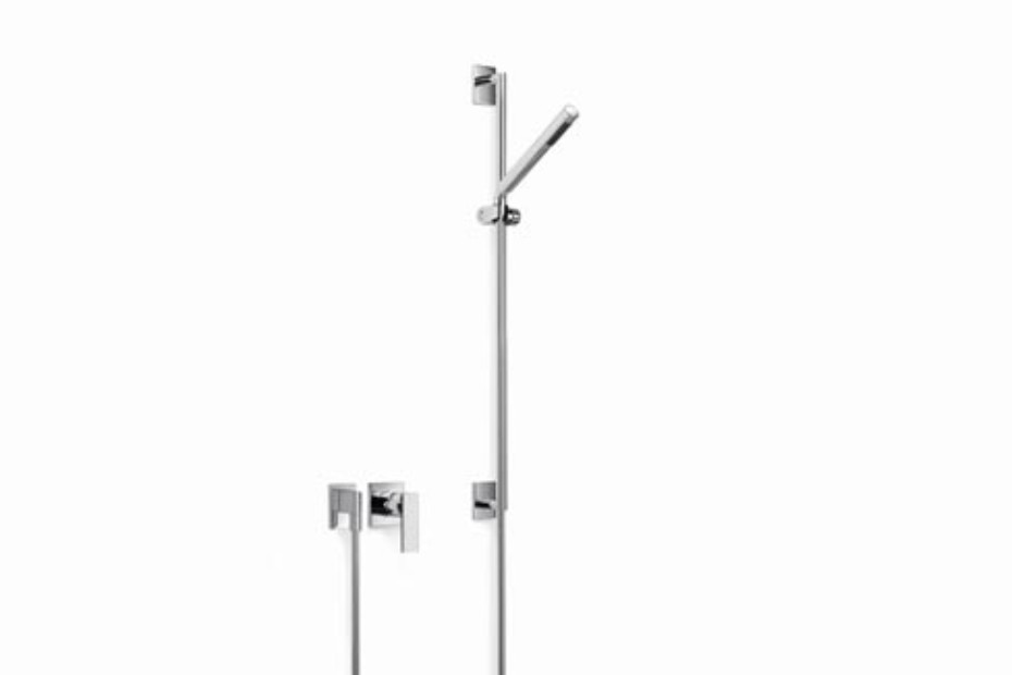 Supernova Wall-mounted single-lever shower mixer with shower set