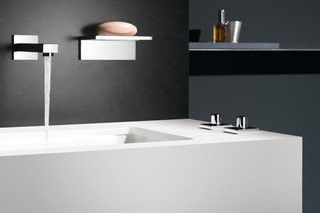 Symetrics Wall mounted basin spout  by  Dornbracht