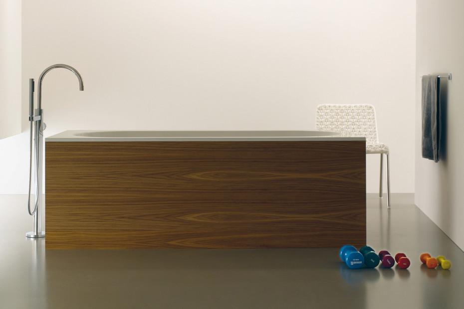 TARA .LOGIC Wannen-Einhandbatterie mit Standrohr