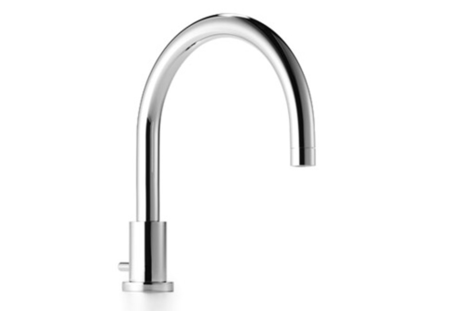 Tara bath spout with automatic bath/shower diverter by Dornbracht ...
