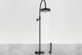 Tara black Brause-Thermostat für Wandmontage 1/2'' mit Standbrause  von  Dornbracht
