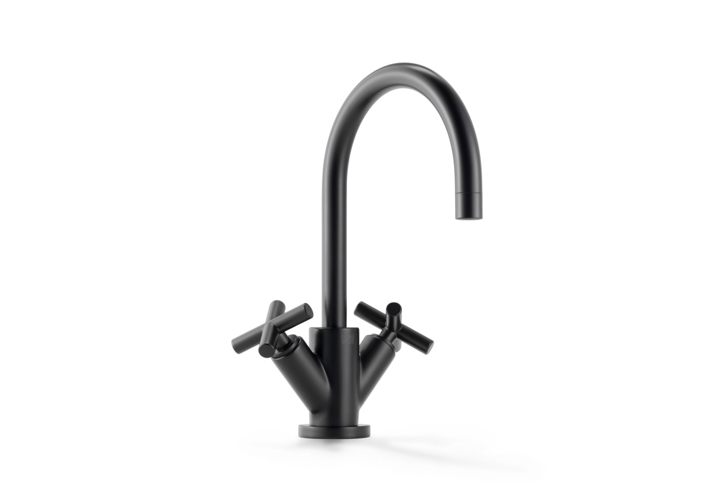tara black single hole basin mixer by dornbracht stylepark. Black Bedroom Furniture Sets. Home Design Ideas