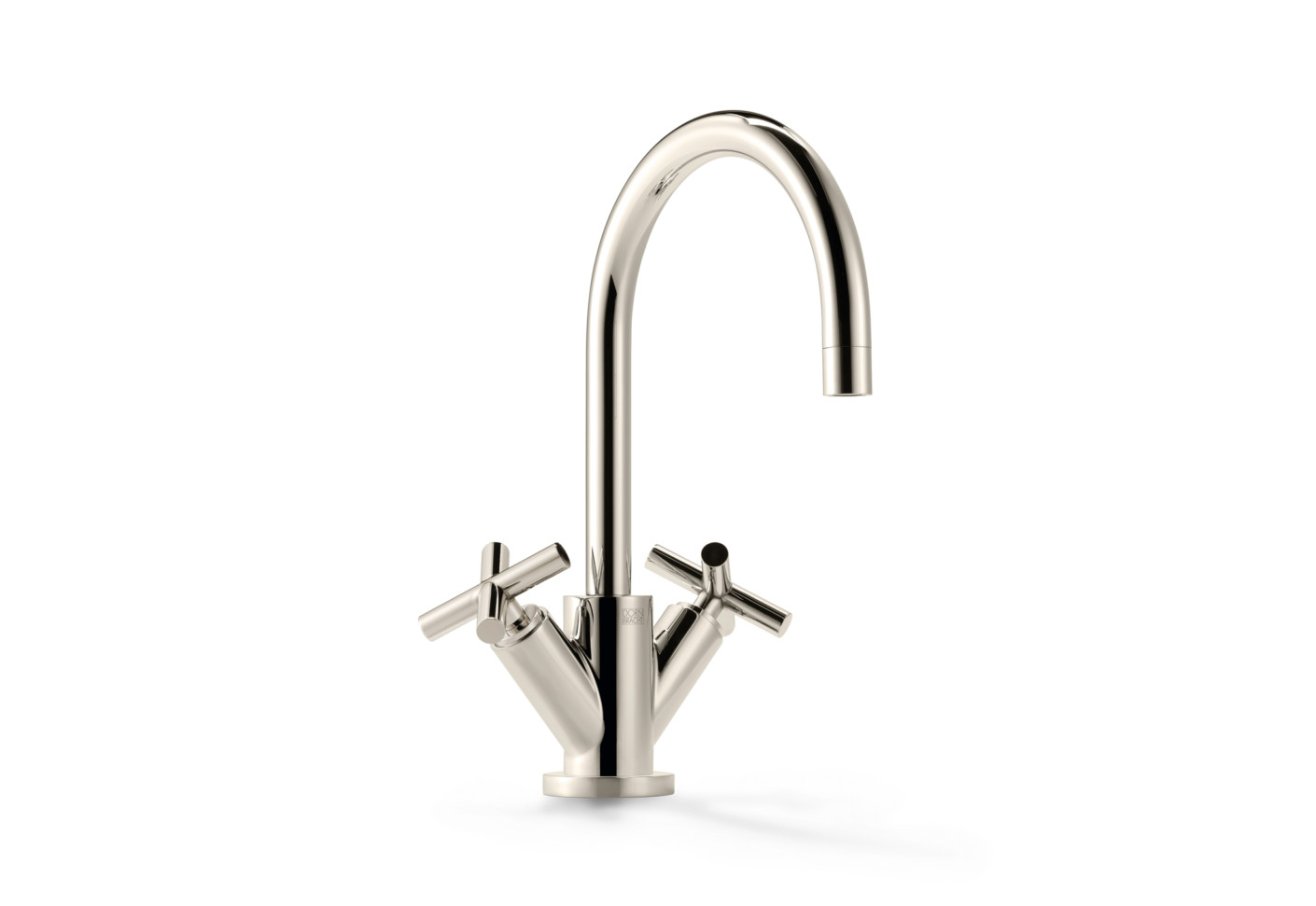 Tara platinum single-hole basin mixer by Dornbracht | STYLEPARK