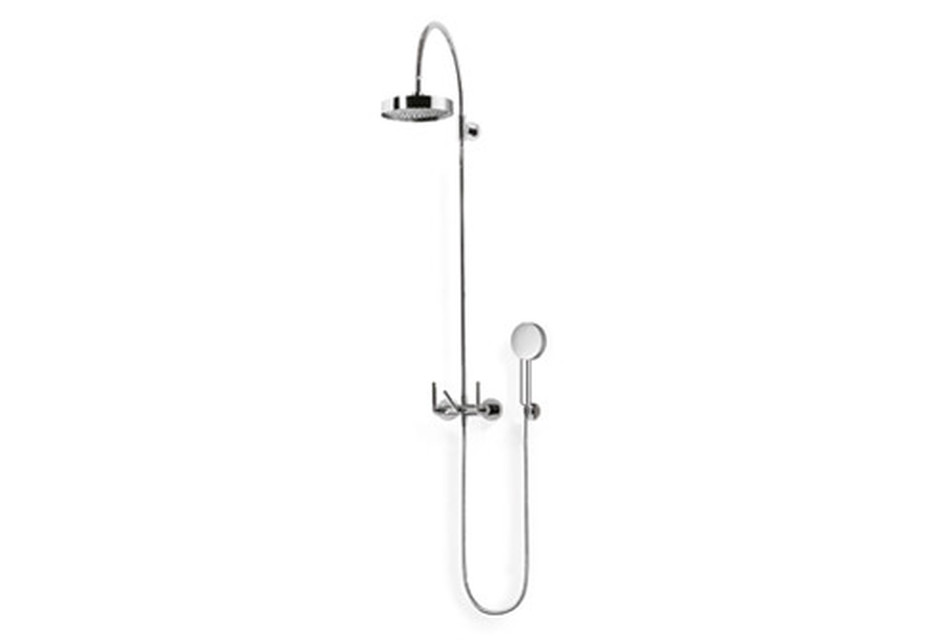 Tara shower mixer with shower with fixed riser