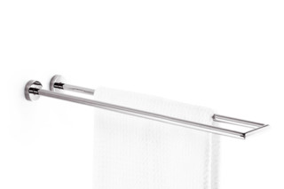 TARA.LOGIC 2 arm towel bar, non-swivel  by  Dornbracht