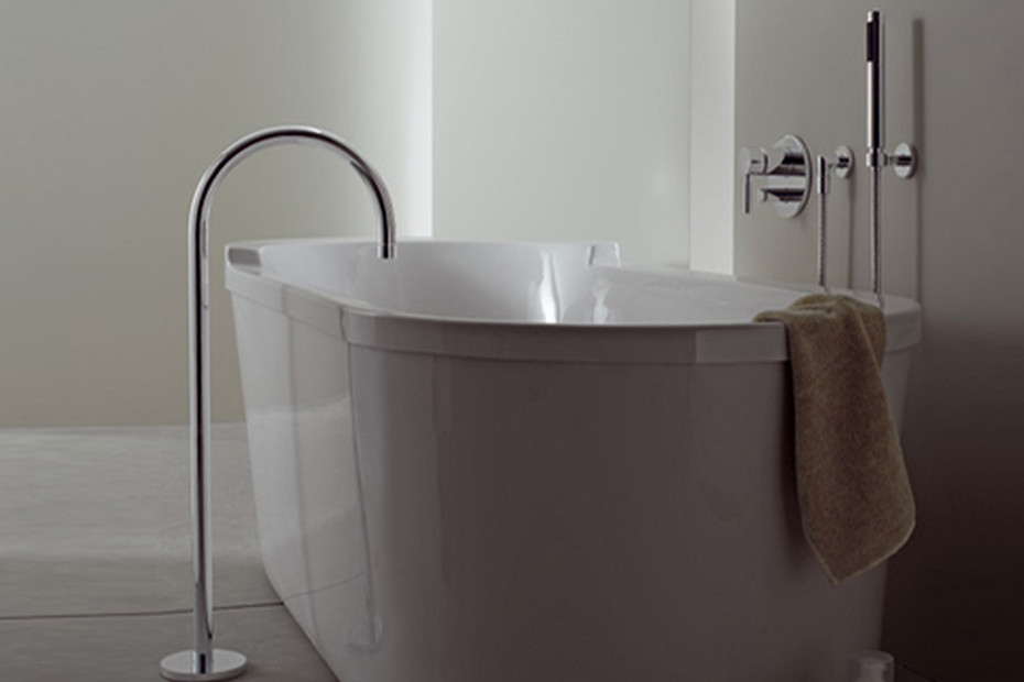 TARA.LOGIC Bath spout with stand pipe