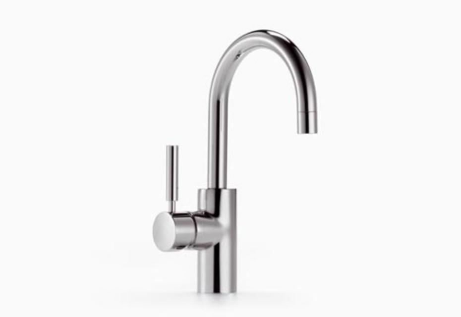 TARA.LOGIC Single-lever basin mixer without pop-up waste