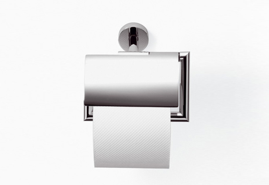 TARA.LOGIC Papierrollenhalter mit Deckel