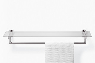 TARA.LOGIC Towel bar with shelf  by  Dornbracht