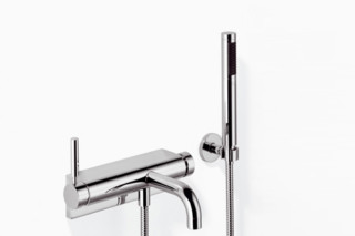TARA.LOGIC wall-mounted single-lever bath mixer with/without shower set  by  Dornbracht