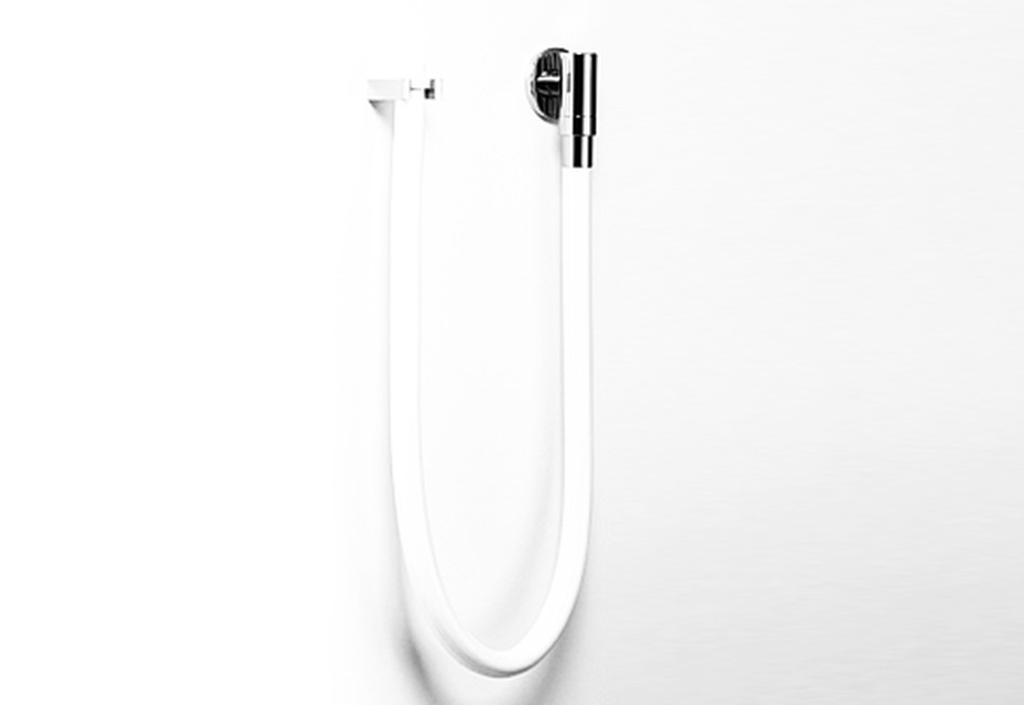 TARA.LOGIC WaterTube Kneipp wall elbow with hose holder