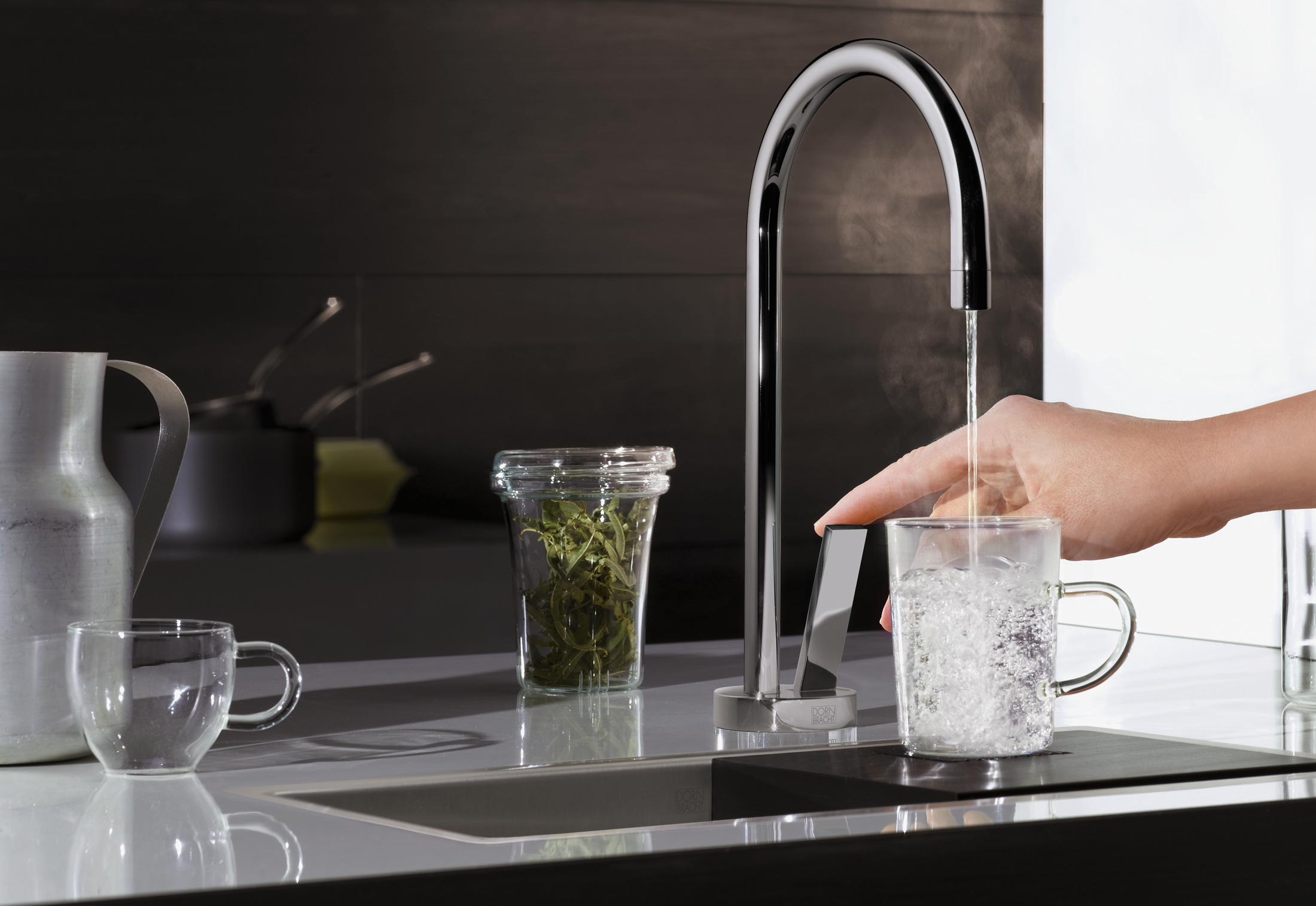 Water Zones Hot & Cold Water Dispenser by Dornbracht   STYLEPARK