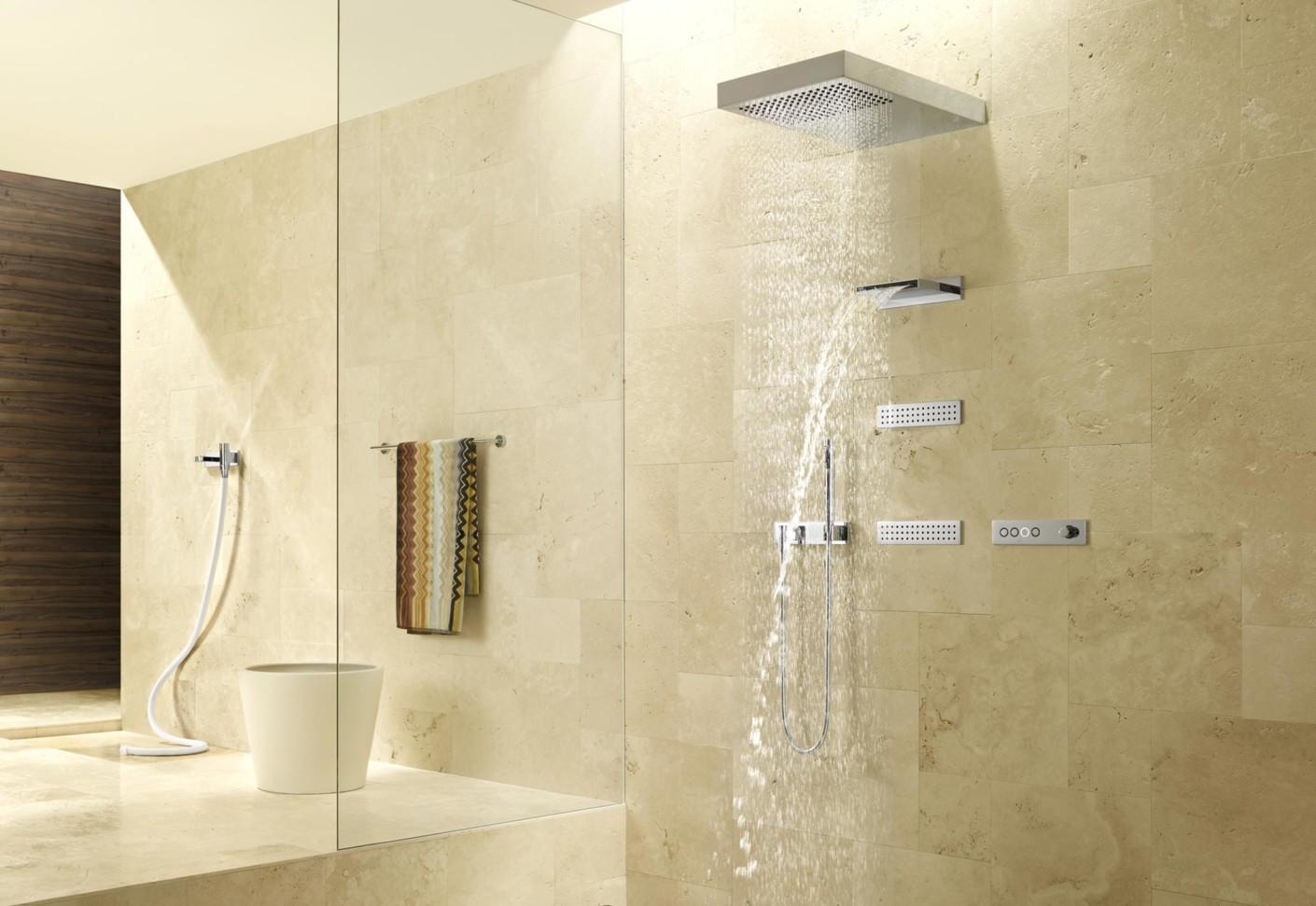 Rain Shower Head Bathtub
