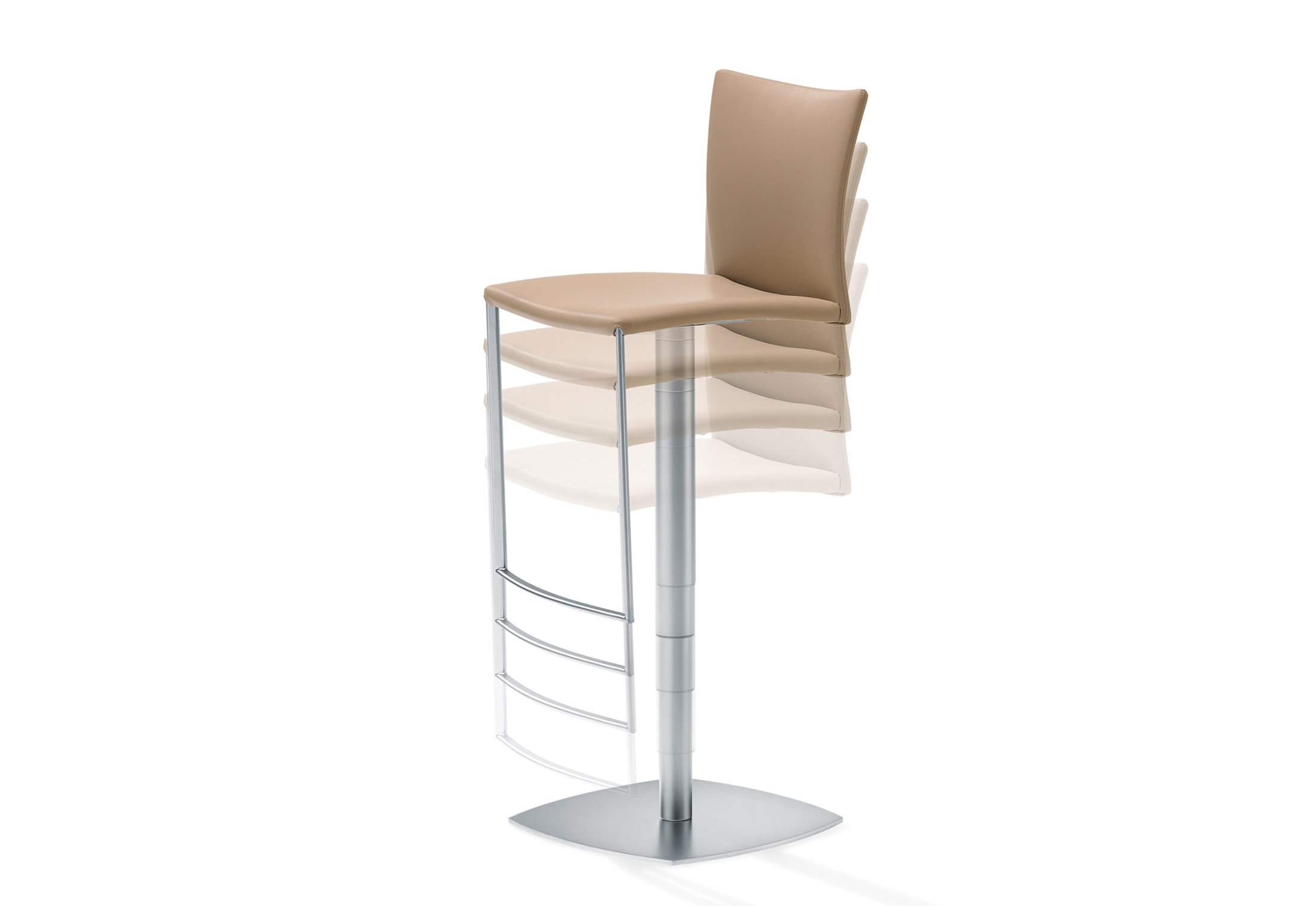2079 ii nobile soft barhocker von draenert stylepark. Black Bedroom Furniture Sets. Home Design Ideas