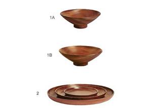 BAZAAR WOOD BOWLS/ TRAYS  by  Driade
