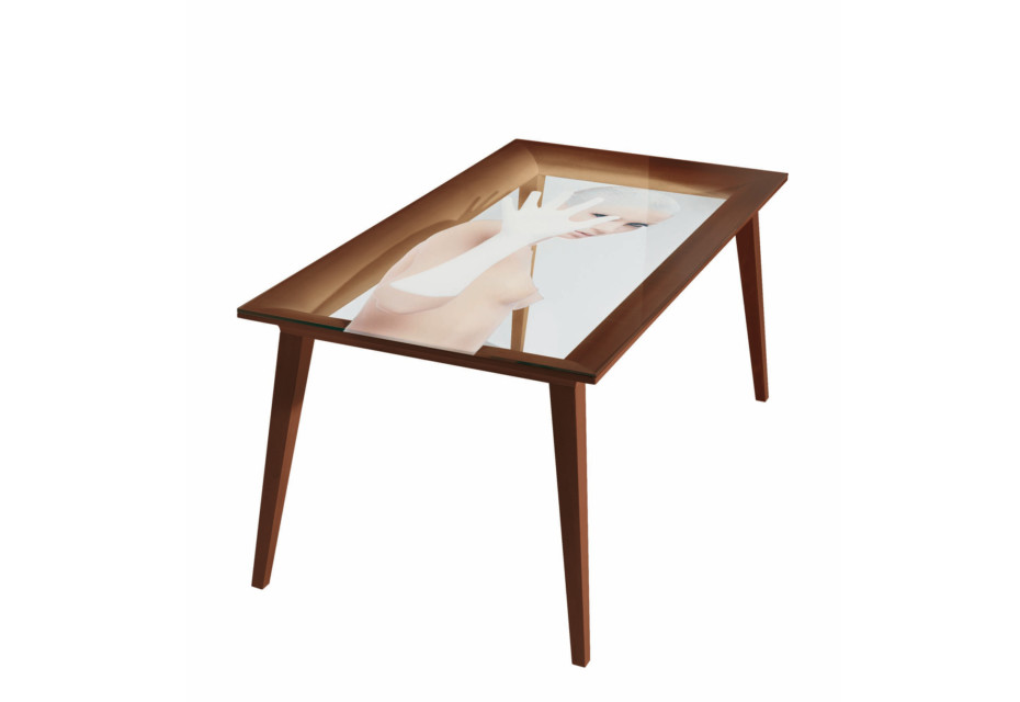 FRAME TABLE with print