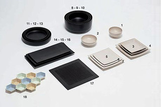 ICI ZEN PLATES  by  Driade