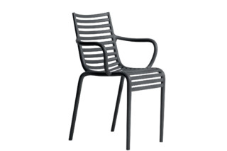 PIP-e chair with armrests  by  Driade