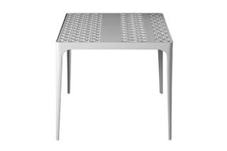 SUNRISE Tisch quadratisch  von  Driade