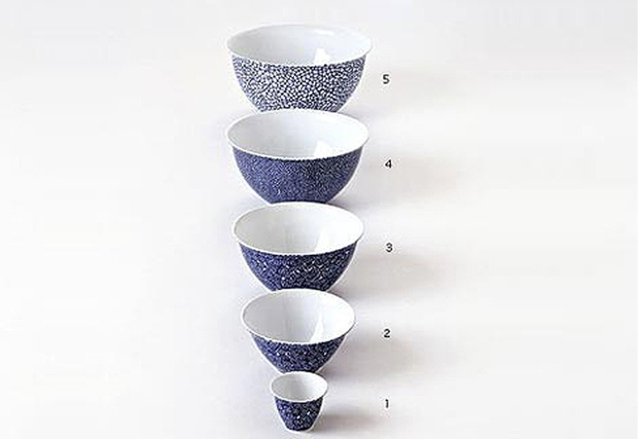THE WHITE SNOW BLUE BOWLS