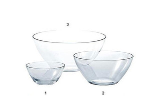 THE WHITE SNOW GLASS BOWLS  by  Driade