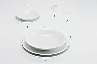 THE WHITE SNOW PLATES  by  Driade