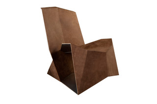 Folded lounge chair  by  dua
