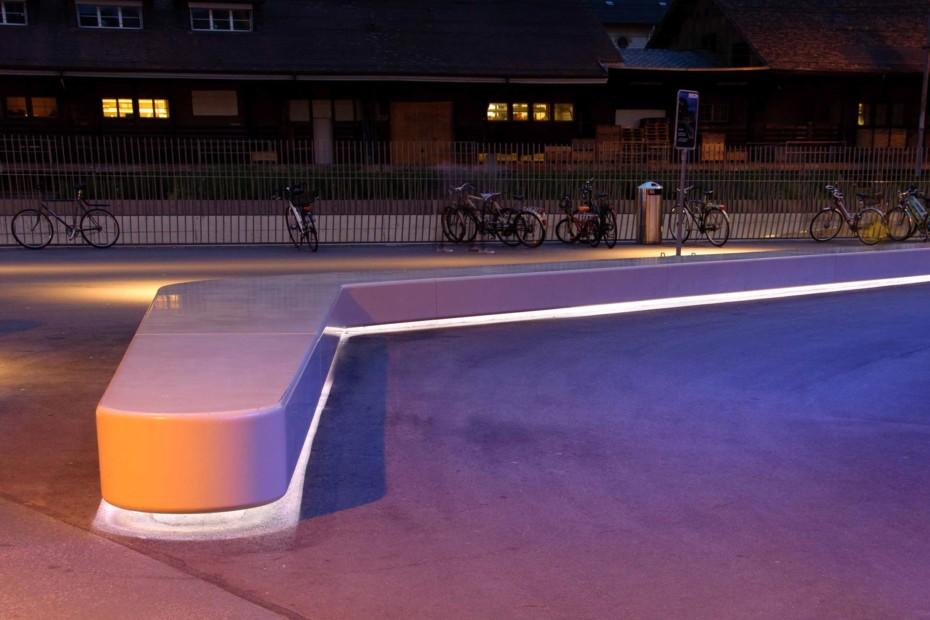 DuPont™ Corian® bench, Winterthur