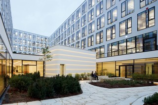 DuPont™ Corian® facade panels ICADE Premier House  by  DuPont™ Corian®