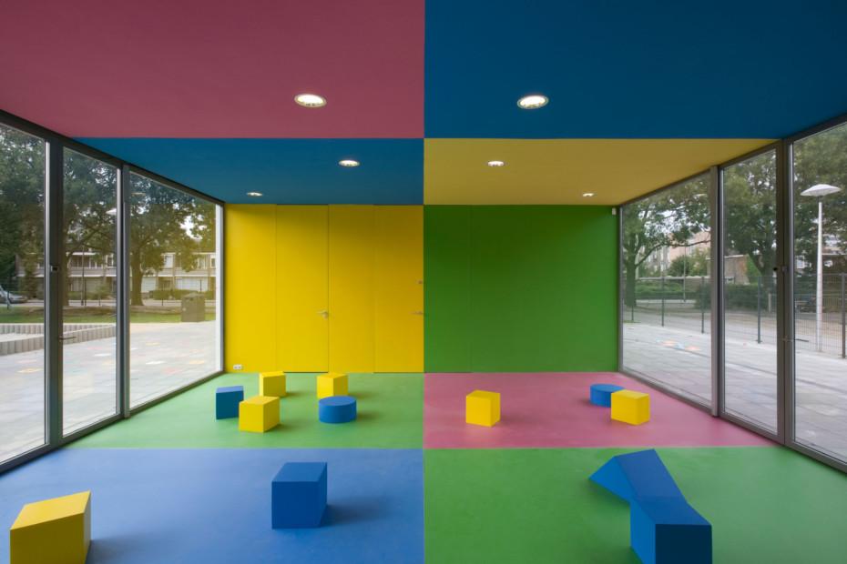 DuPont™ Corian® Kindergarten Utrecht