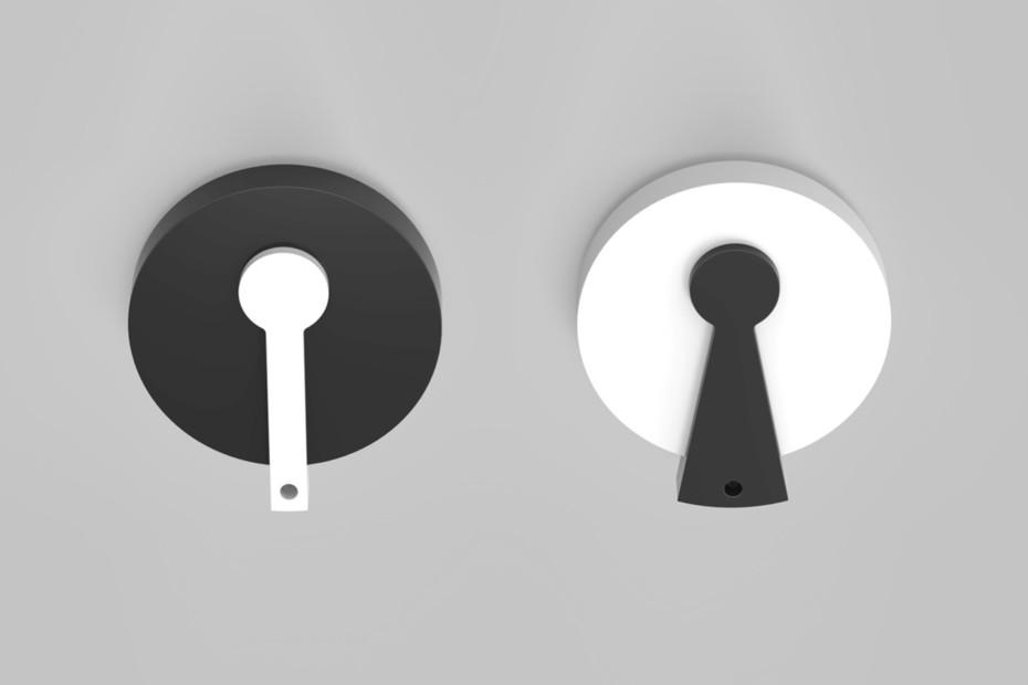 DuPont™ Corian® Schlüsselwesen
