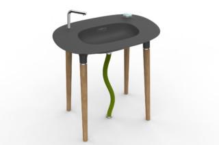 Modern Nomads Waschtisch  von  DuPont™ Corian®