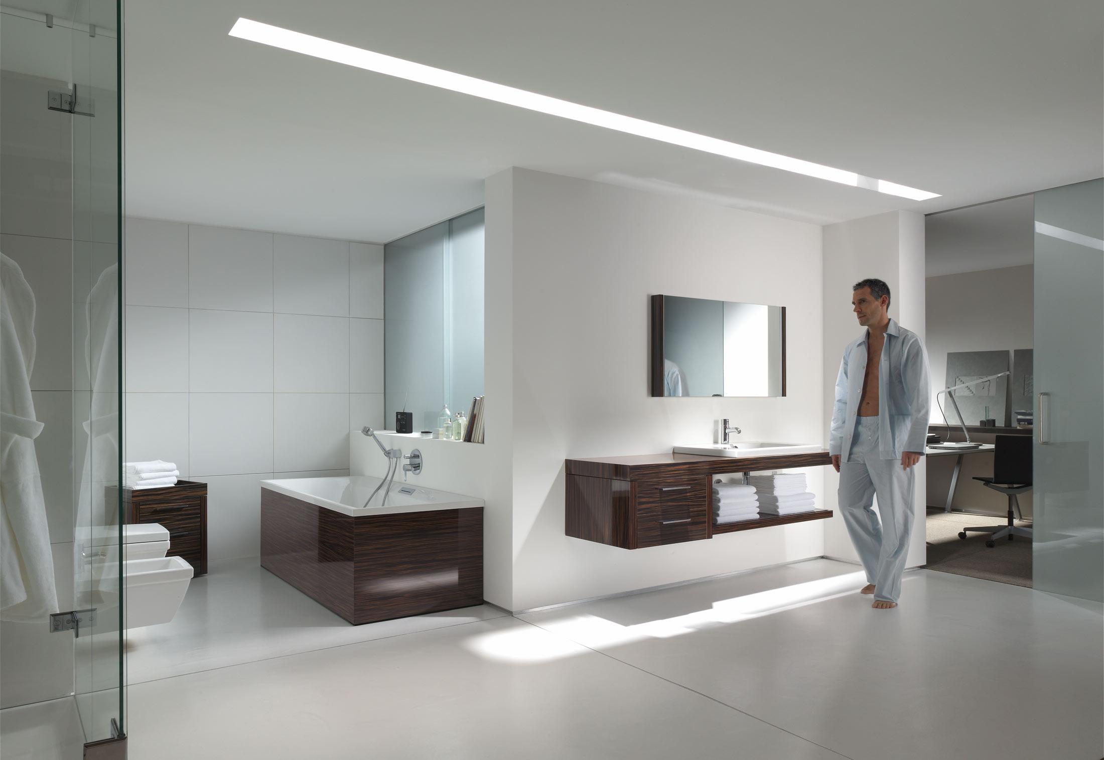 2nd floor wanne einbauversion von duravit stylepark. Black Bedroom Furniture Sets. Home Design Ideas