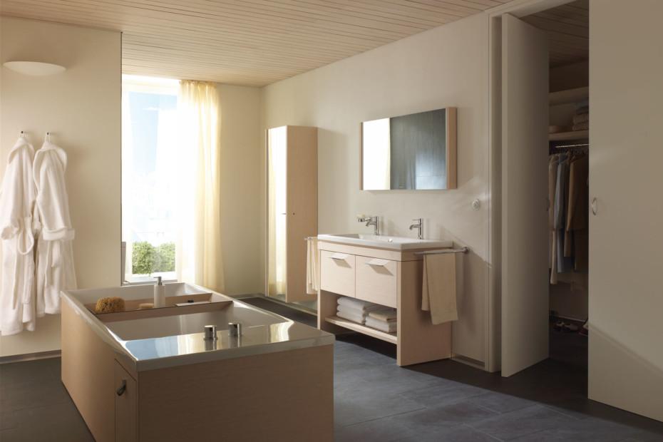 2nd floor wanne freistehend von duravit stylepark. Black Bedroom Furniture Sets. Home Design Ideas